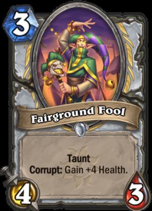 Fairground Fool Card