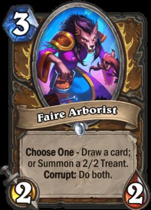 Faire Arborist Card