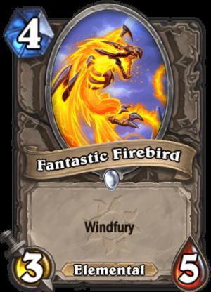 Fantastic Firebird Card