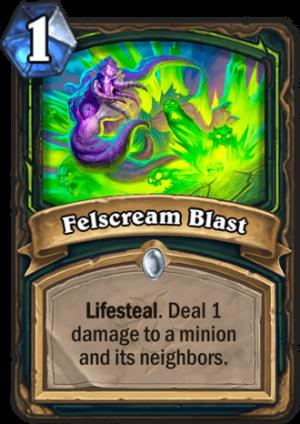 Felscream Blast Card