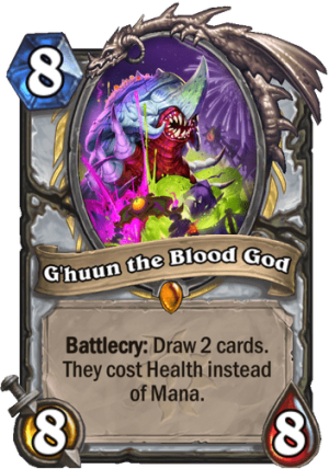 G'huun the Blood God Card