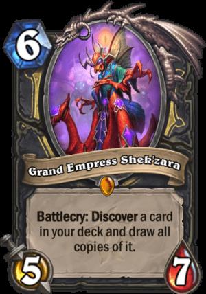 Grand Empress Shek'zara Card