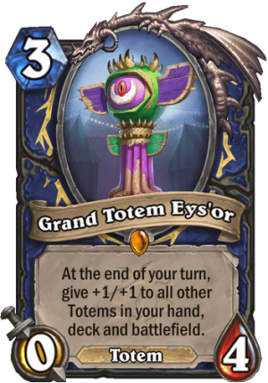 Grand Totem Eys'or Card