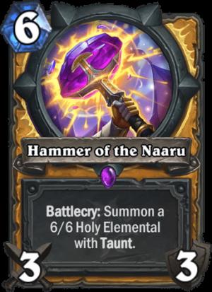 Hammer of the Naaru Card