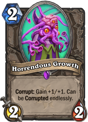 Horrendous Growth Card