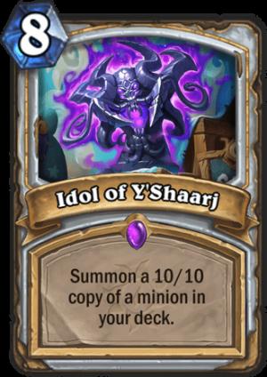 Idol of Y'Shaarj Card