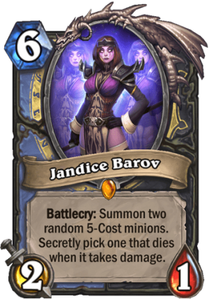 Jandice Barov Card
