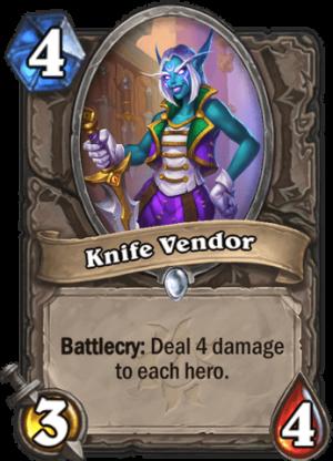 Knife Vendor Card