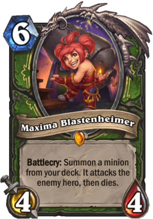 Maxima Blastenheimer Card
