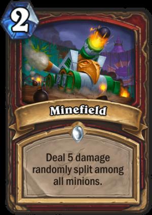 Minefield Card