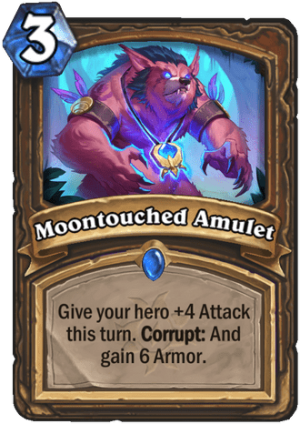 Moontouched Amulet Card