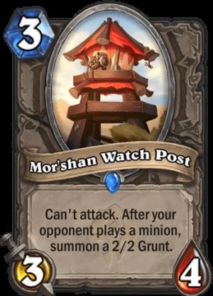 Mor'shan Watch Post Card