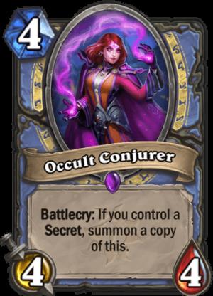 Occult Conjurer Card
