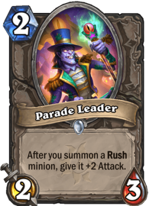 Parade Leader Card
