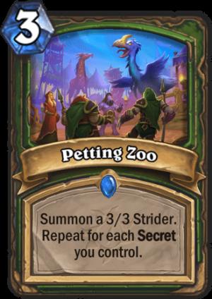 Petting Zoo Card