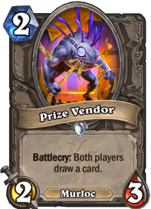 Prize Vendor Card