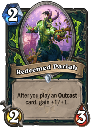 Redeemed Pariah Card