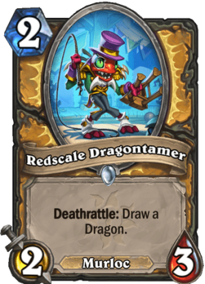 Redscale Dragontamer Card