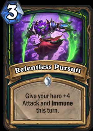 Relentless Pursuit Card