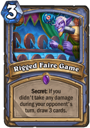 Rigged Faire Game Card