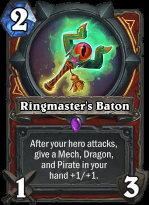 Ringmaster's Baton Card