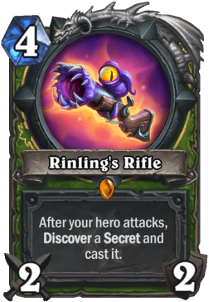 Rinling's Rifle Card