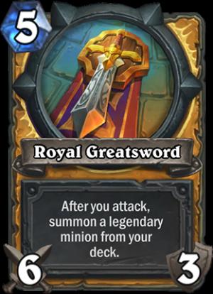 Royal Greatsword Card
