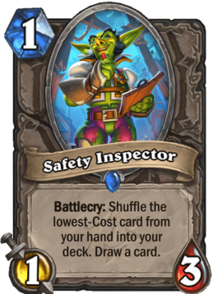 Safety Inspector Card