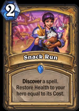 Snack Run Card