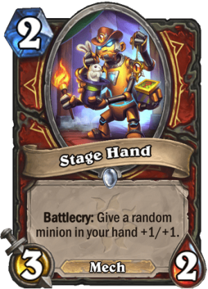 Stage Hand Card