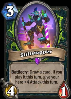 Stiltstepper Card