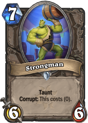 Strongman Card