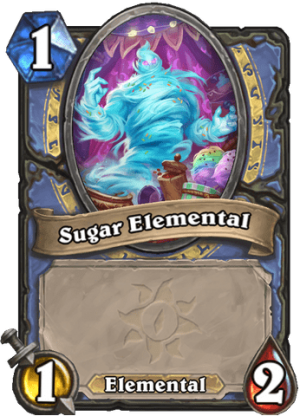Sugar Elemental Card