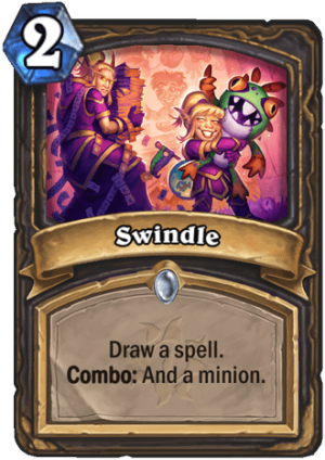 Swindle Card