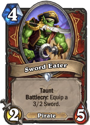 Sword Eater Card
