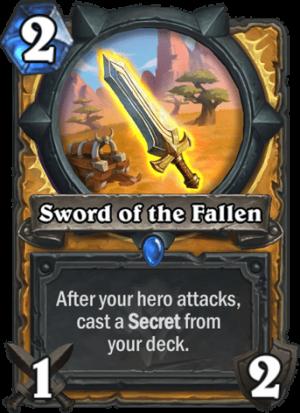 Sword of the Fallen Card