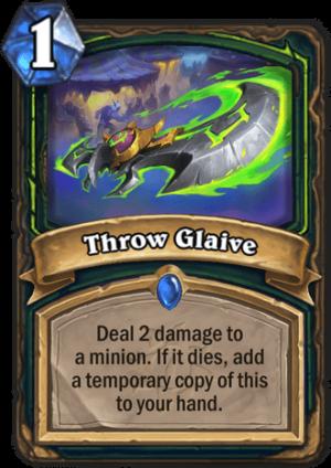 Throw Glaive Card