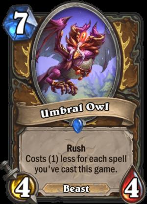 Umbral Owl Card