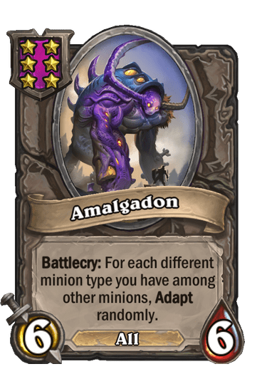 Amalgadon Card!