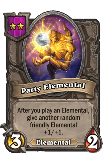 Party Elemental Card!