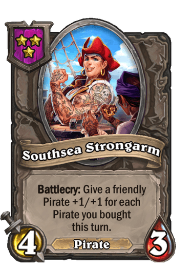 Southsea Strongarm Card!