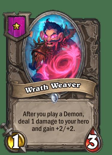 Wrath Weaver Card!