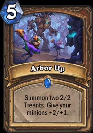 Arbor Up Card