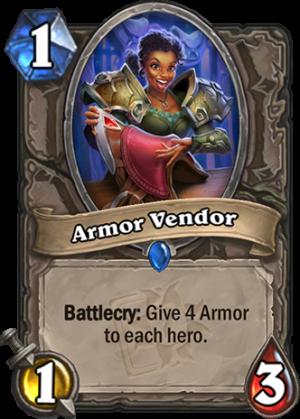 Armor Vendor Card