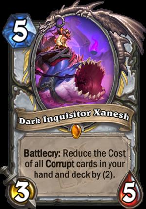 Dark Inquisitor Xanesh Card