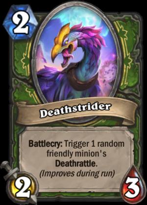 Deathstrider Card