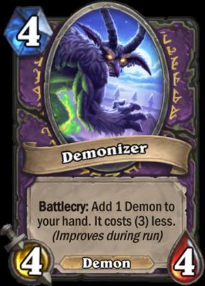 Demonizer Card