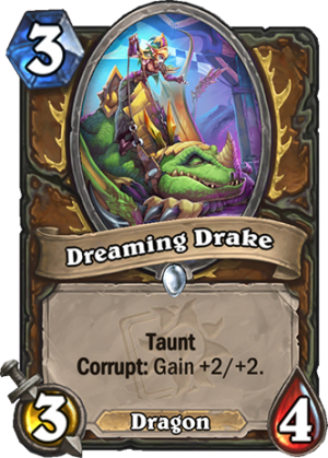 Dreaming Drake Card
