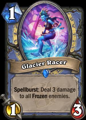 Glacier Racer Card