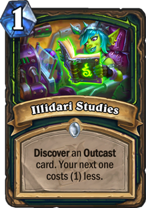 Illidari Studies Card